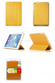 Чехол Apple iPad mini / iPad mini 2 / iPad mini 3 HOCO Flash series leather case раскладной кожа (золото)