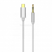 Аудио кабель Baseus Yiven Type-C male To 3.5 male Audio Cable M01 White 1.2M